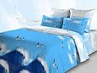 Комплект постельного белья «Альбатрос» (арт. 3850/1, 1,5 спальный, бязь, 2 наволочки 70х70)
