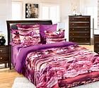 """Комплект постельного белья """"Фламинго"""" (арт. 19305, 2-спальный, бязь, 2 наволочки 70х70), цвет розовый"""