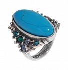Кольцо «Aura-X» (покрытие - черненое серебро)