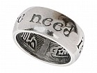 Кольцо «Нидлав» (покрытие - черненое серебро)