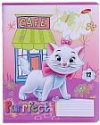 Тетрадь «Marie Cat», 12 листов, в ассортименте