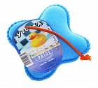 Губка банная детская  «Уточка», цвет в ассортименте